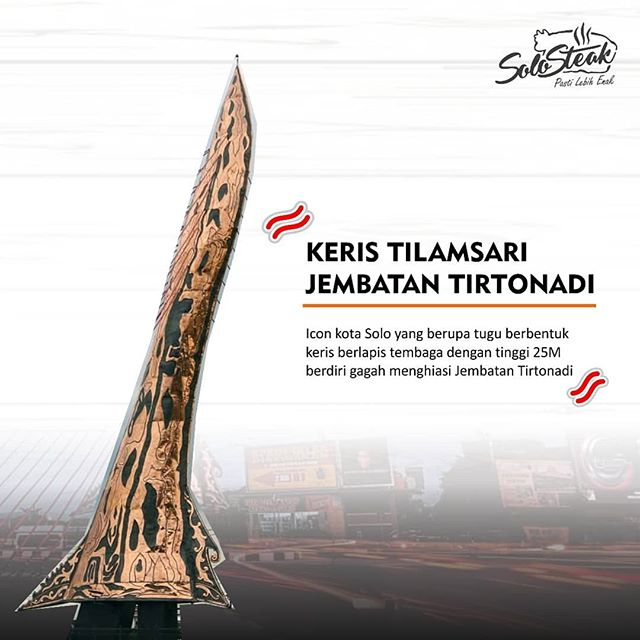 Jembatan Tirtonadi Solo Steak